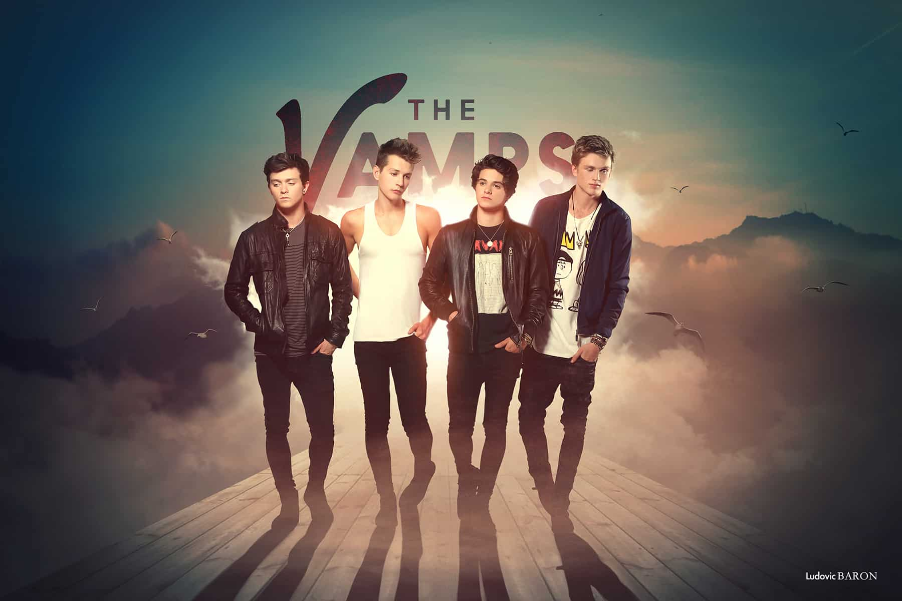 1 Art photographie THE VAMPS by Ludovic