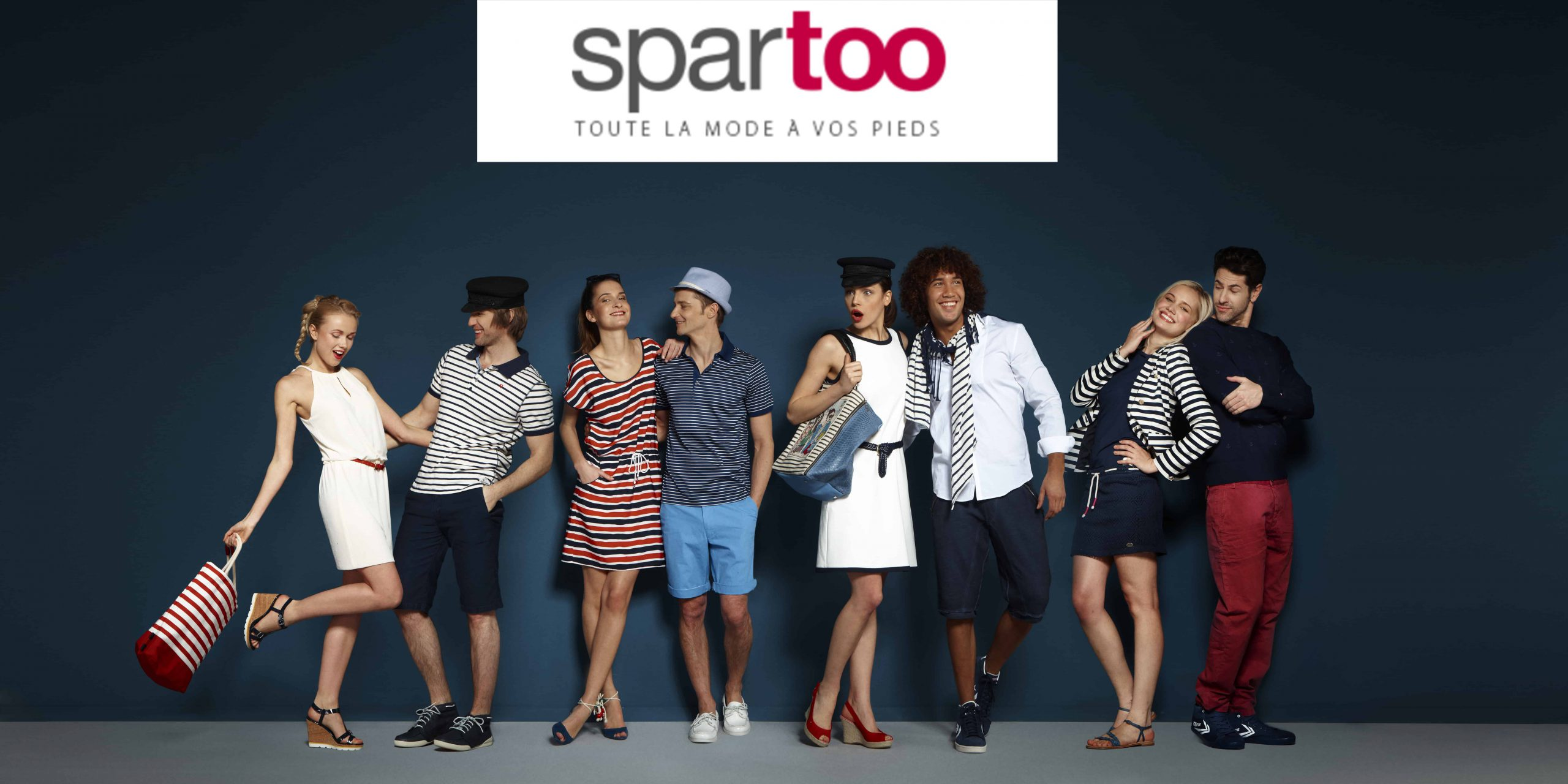 25 Campagne Spartoo Navy Nouvelle collection scaled
