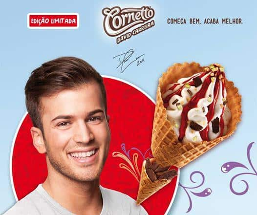 6 David Carreira Publicité Cornetto